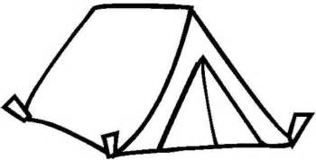 tent coloring page tent coloring book page