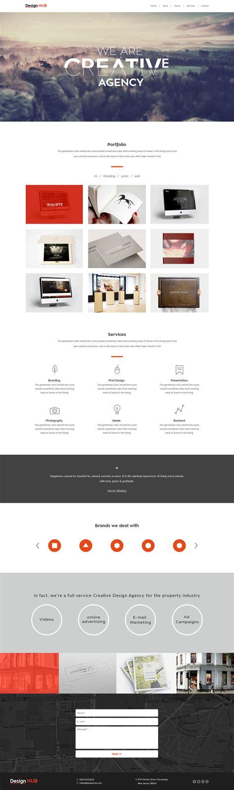 design hub menu design hub by coolingwindow themeforest