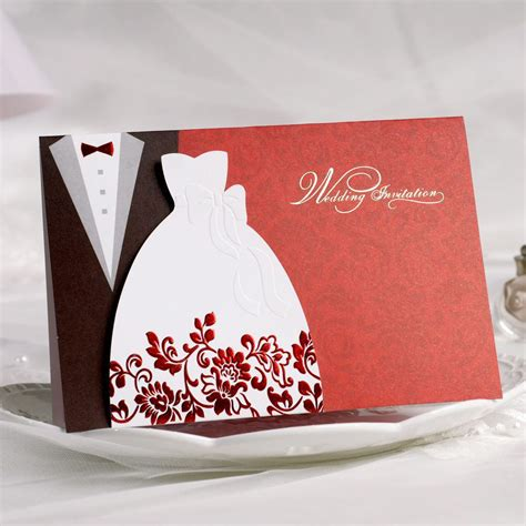 Married Invite Card by Wedding Invitation Wedding Invitation Card Printing
