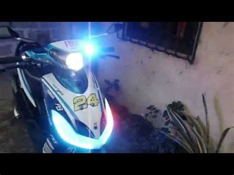 Lu Led Motor Mio Sporty motor trend modifikasi modifikasi motor yamaha mio