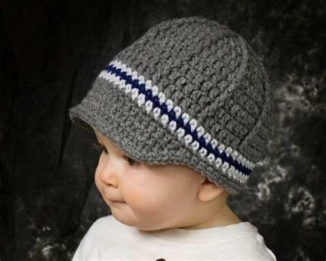 como tejer un sombrero cowboy de bebe a crochet gorros a crochet para bebes varones