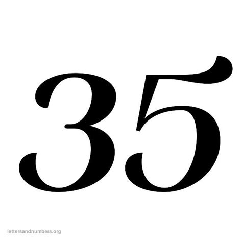 printable numbers 1 35 pin printable numbers 1 100 heather blog on pinterest