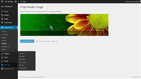 tutorial wordpress header how to change your header in wordpress fastwebhost