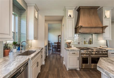 Modern Gray Sherwin Williams transitional modern farmhouse kitchen design home bunch