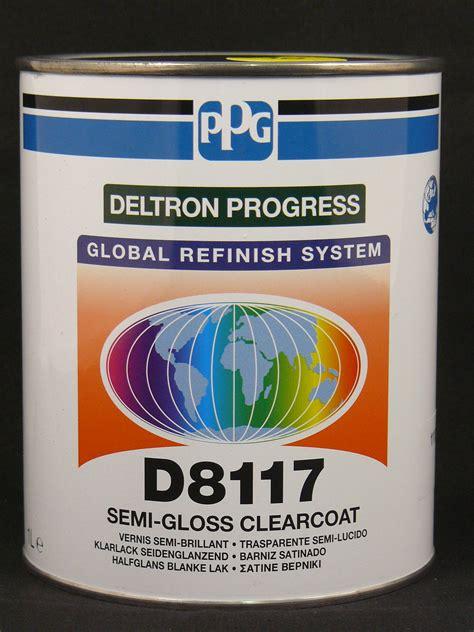 Klarlack Seidenmatt Polieren by 1 Liter Ppg Deltron Klarlack Seidenmatt D8117 Ebay