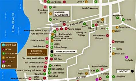 bali garden resort map 1st booking hotels bali