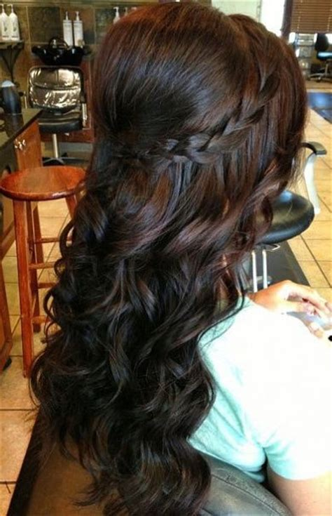 hairstyles braided with curls 13 gorgeous long curly hairstyles pretty designs