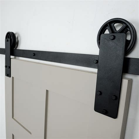door hardware aspen flat track hardware kit barndoorhardware