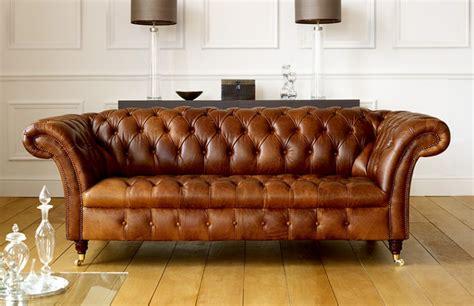 Leather Chesterfield Sofa Uk Barrington Vintage Leather Sofa Leather Chesterfield Sofas