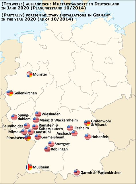 map us bases 2 list of united states army installations in germany wikiwand