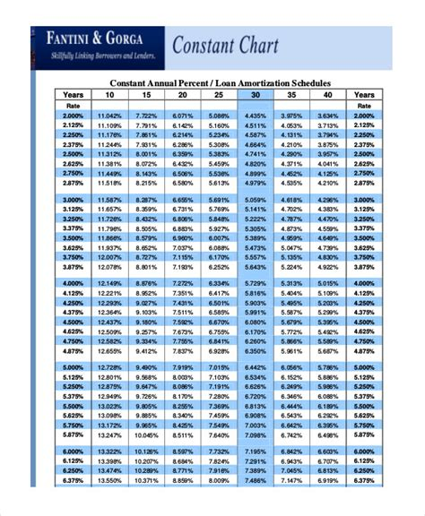 personal loan amortization table loan amortization schedule 5 free excel pdf documents