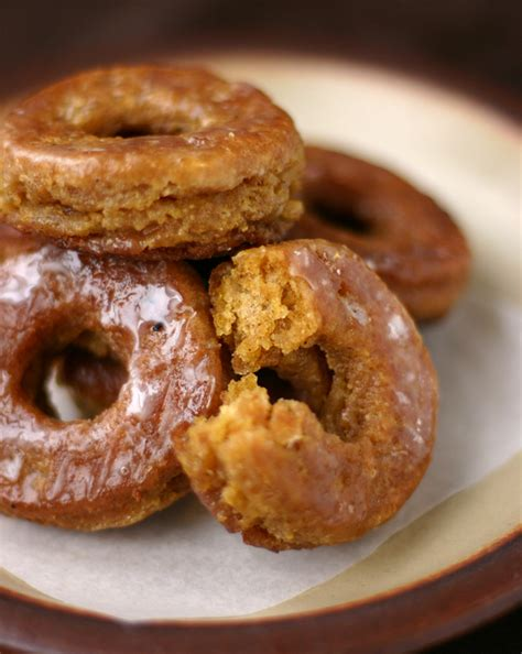 cooking recipes pumpkin donuts with buttermilk glaze