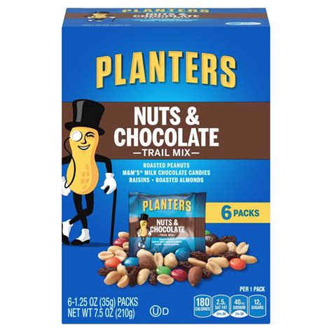 planters nuts and chocolate trail mix craisins spray dried cranberries orange 1 16 ounce pack of 200 grocery