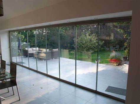 Frameless Folding Glass Doors Frameless Folding Glass Doors Nail Salon Decor