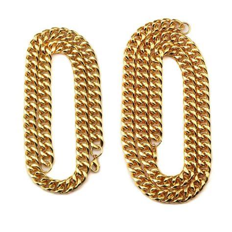 Kalung Emas Titanium jual kalung pria titanium rantai emas gold besar di lapak