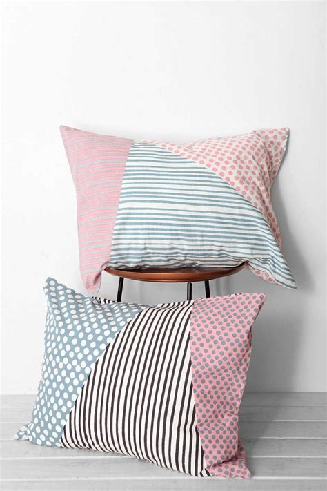 Outfitters Pillows by Assembly Home Helmi Geo Sham Set Outfitters