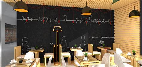 design interior dinding cafe wood green cafe uberkreative