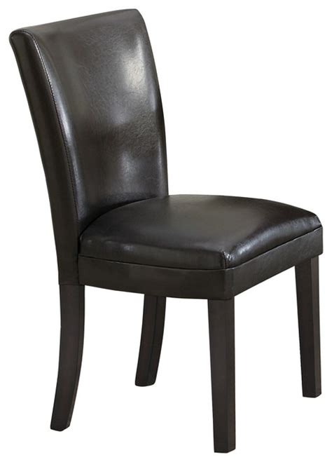 parsons plush upholstered dining chair contemporary