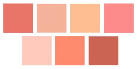 sherwin williams paint top l r ardent coral smoky salmon avid apricot dishy coral bottom