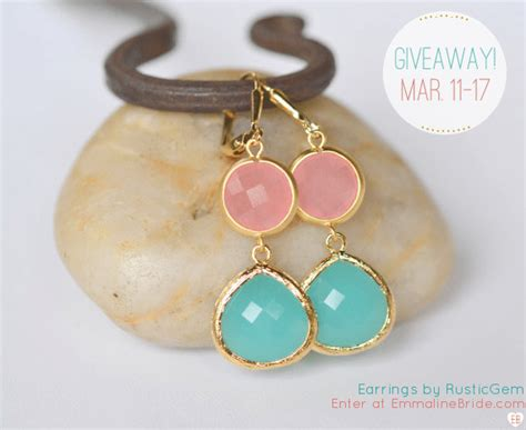Win A Pair Of Earrings by Giveaway Win A Pair Of Earrings March 11 17 Emmaline
