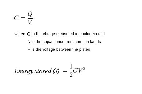 equation for energy stored in a capacitor terra forming terra eestor article