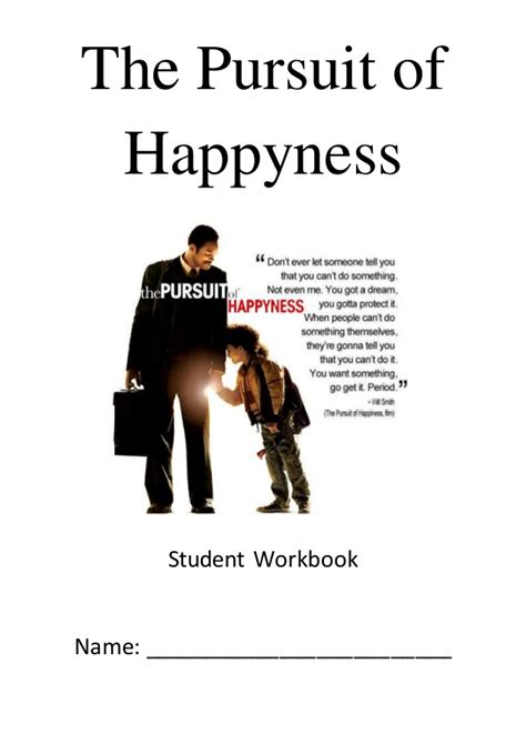 kisah nyata film the pursuit of happiness the pursuit of happyness student workbook