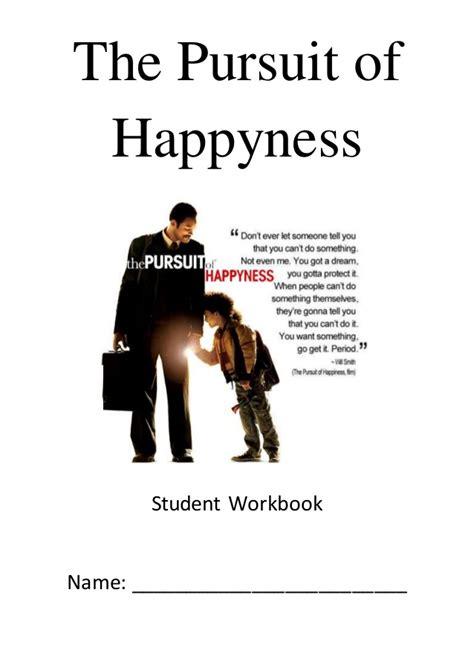 film motivasi pursuit of happiness the pursuit of happyness student workbook