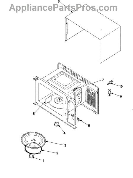 Elemen Microwave parts for samsung ww600 cavity elements parts