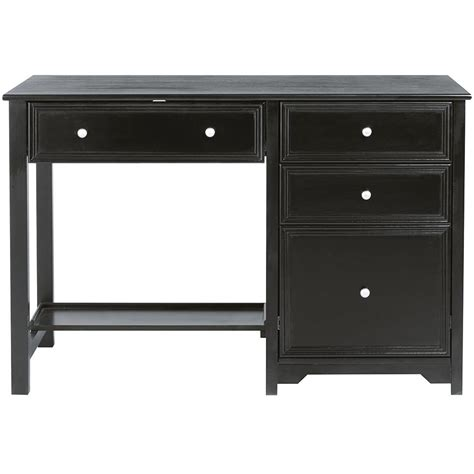 home decorators collection oxford white desk 0151200410 home decorators collection oxford black desk with shelf