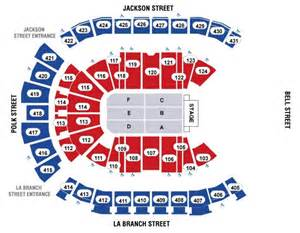 Flash Seats Toyota Center Toyota Center End Stage Seating Map Houston Forum