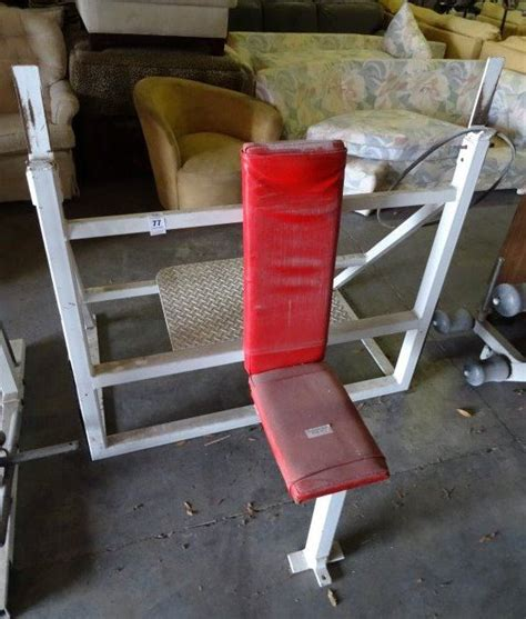 military bench press military press bench bay area auction services