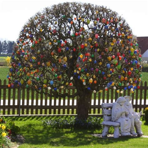 tree tradition frohe ostern happy easter afro meets