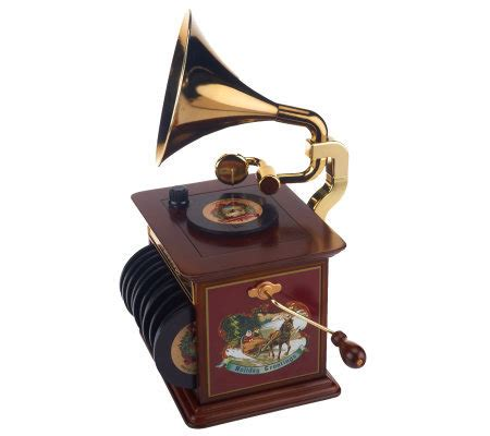 mr christmas gramophone with 12 classic christmas songs