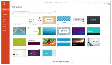 Template Powerpoint 2013 Gratuit Choice Image Powerpoint Powerpoint Themes 2013