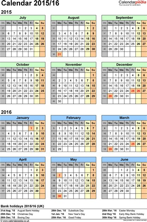 printable financial year calendar australia editable and printable 2016 2017 fiscal calendars