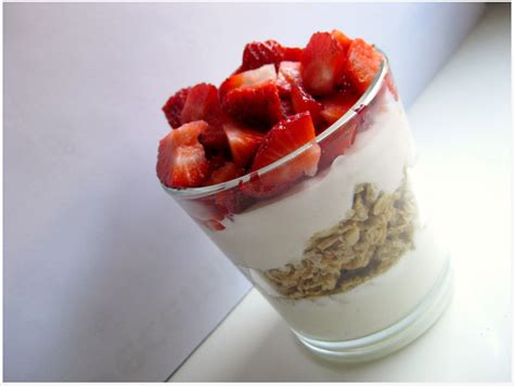 fruit parfait fruit on the bottom yogurt parfaits recipe dishmaps