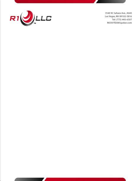 online design of letterhead custom graphic design services business cards r1 llc