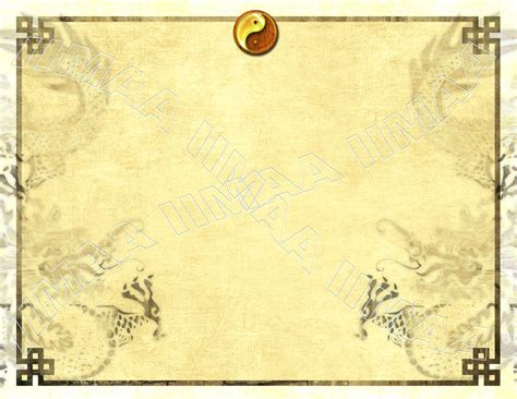 martial arts certificates templates student yin yang certificate international