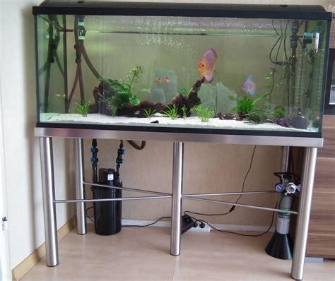 gestell aquarium design edelstahl aquarium gestell unterschrank 120 x 40 ebay