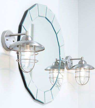 nautical lights for bathroom nautical lighting bathroom styled mirror and