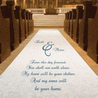 Wedding Aisle Runner Cheap by Wedding Runways Custom Printed Wedding Aisle Runners