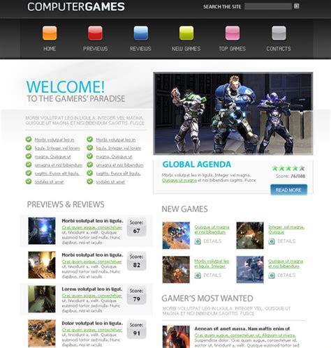 layout xhtml css 70 free xhtml css templates download now freebies