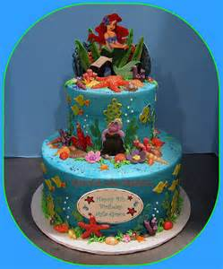 ariel little mermaid birthday cake grace tari flickr