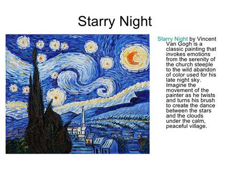 drakorindo gogh the starry night starry night starry night by