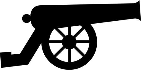 pictogram   type cannon vector image public domain