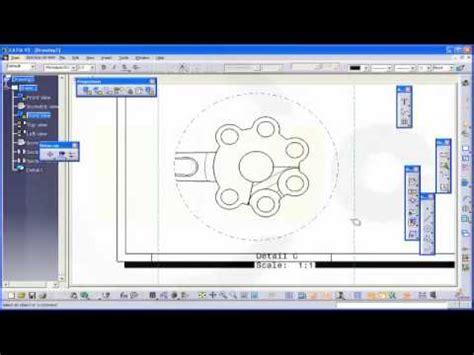 section view catia pleuel hauptpleuel assembly sternmotor klein catia v5
