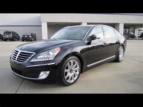 2011 hyundai equus signature 2011 hyundai equus signature start up engine and in