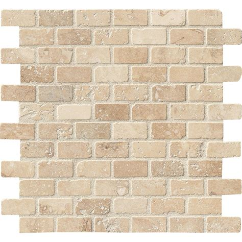 Home Depot Brick Tile by Ms International Chiaro Brick 12 In X 12 In X 10 Mm