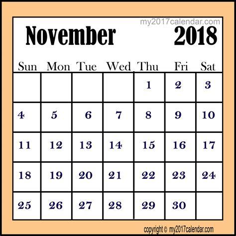 printable november 2017 calendar with lines november 2018 calendar printable monthly calendars