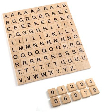 spare scrabble tiles uk 100 wooden scrabble tiles letters numbers handcrafts board